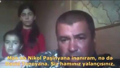 """Photo of Erməni hərbçi gözyaşları içində Paşinyana səsləndi: """"Acından ölürəm"""" – VİDEO"""