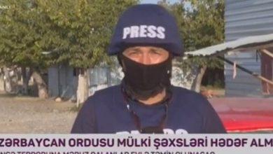 Photo of Ermənilər AzTV-nin əməkdaşını  yaraladı