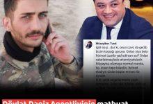 Photo of Dövlət Dəniz Agentliyinin mətbuat katibi Tural Müseyibov şəhidi təhqir etdi – FOTOFAKT